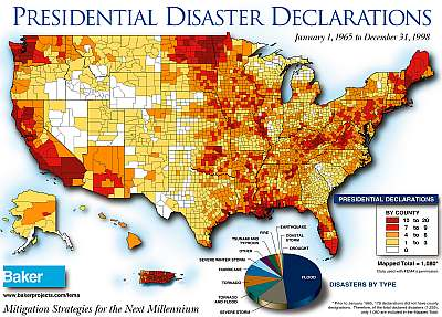 Disaster Areas In The Usa