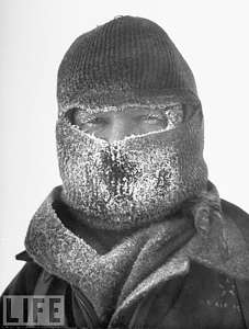 Joseph O Fletcher with polar mask