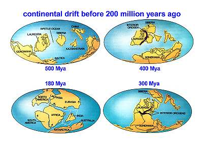 Oceanography oceans continental drift before 200 mya gumiabroncs Choice Image